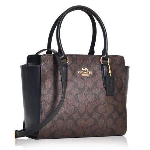Signature leah satchel