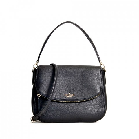 Jackson medium flap shoulder bag